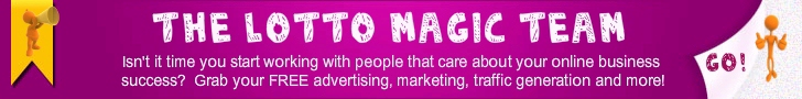 Join the Lotto Magic Team, marketing and growing for the team since 2005. Join the top team today!