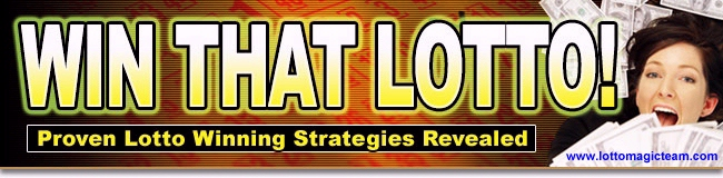 Get your FREE Win That Lotto e-book today!