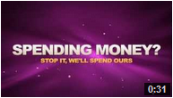 Stop spenging your money, we'll spend ours